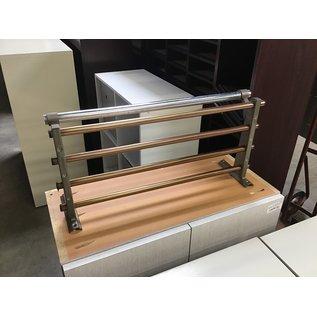 "12x24"" Metal wall mount coat rack (4/7/2021)"