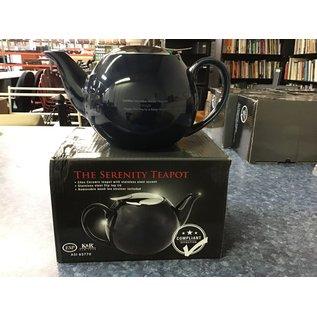 24 ounce ceramic teapot w/ s.s. lid& mesh strainer (4/7/21)