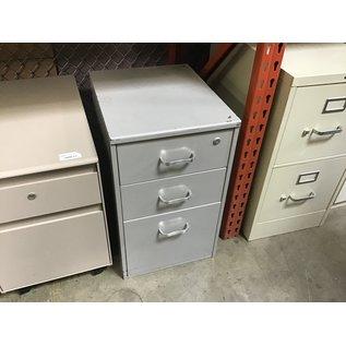 """18x15x25"""" Gray 3 drawer cabinet (4/13/2021)"""