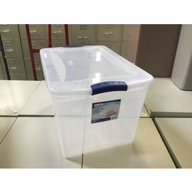 Sterilize 12 gal storage container (4/13/2021)