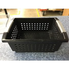 14x11 Black plastic basket (4/14/21)