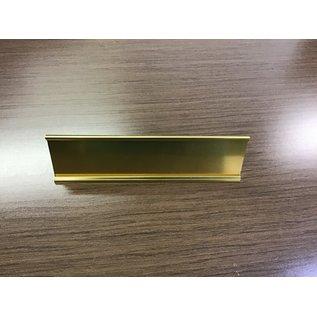 Brass nameplate holder (4/20/21)
