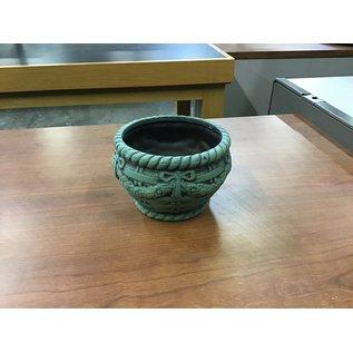 Green ceramic vase (5/17/21)