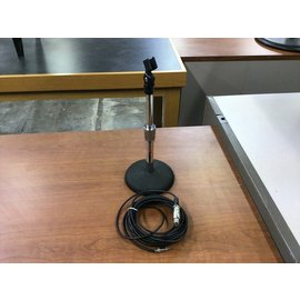 Atlas sound table top mic stand and cable (4/20/21)