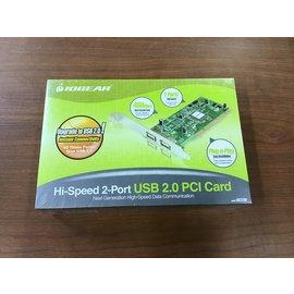 IOGEAR Hi-Speed 2-port 2.0 USB PCI Card - New (4/20/21)