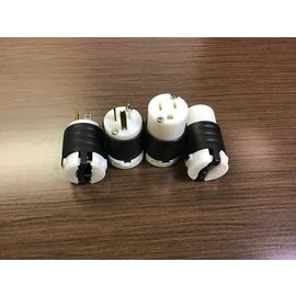 Extension cord plug and connector set - 4pc set (4/20/21)