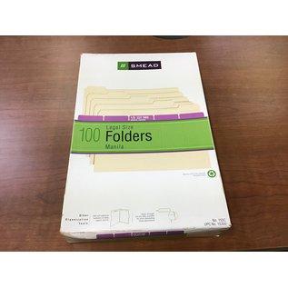 Smead legal size 1/5 cut Manila file folders (4/20/21)
