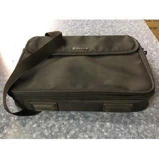 Black cloth Compaq laptop case (4/20/21)