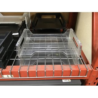 Clear plastic 2 tier paper tray (4/22/2021)