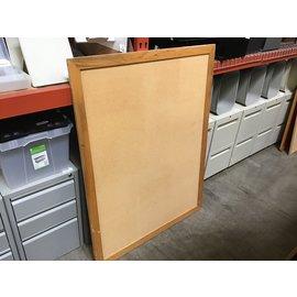 """39 1/4x51"""" Wood frame cork board (4/26/2021)"""