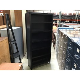 "11 1/4x34 1/4x75"" Wood bookcase (4/26/2021)"