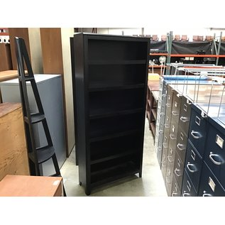 "11 1/4x34 1/4x75"" Wood bookcase (4/26/2021)"