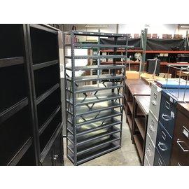 """12x36x75"""" Gray 12 shelf utility shelf (4/26/2021)"""
