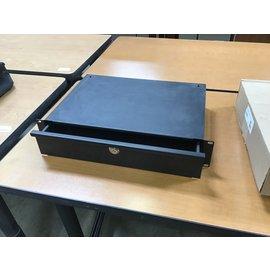 """12 1/2x19"""" Black metal rack mount drawer (4/26/2021)"""