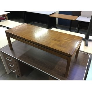 """19x46x15"""" Wood coffee table-a few chips on top (5/12/21)"""