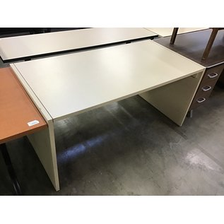 """30x60x29"""" Beige work table-a few chips along the edges (5/12/21)"""