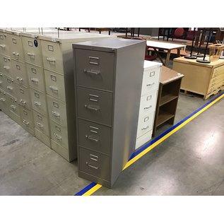Brown Hon 4 drawer vertical file cabinet (5/12/21)