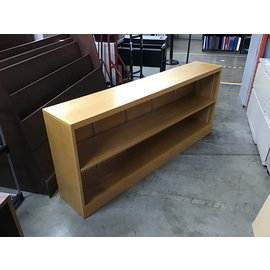 "12x66 1/2x28"" Wood horizontal bookcase (5/12/21)"