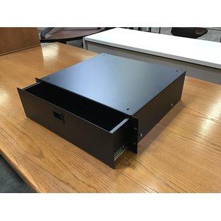 Black metal rack mount drawer (5/14/21)