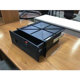 Black plastic rack mount drawer (5/14/21)