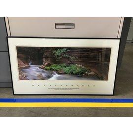 "20 1/4x36"" Perseverance Print black aluminum frame (5/14/21)"