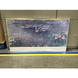 """27 3/4x49 1/4"""" Framed Monet,s Years at GivernyPrint (5/14/21)"""