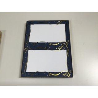 8 1/2x11 Stars decorative border paper for picture frames-100 pcs (5/18/2021)