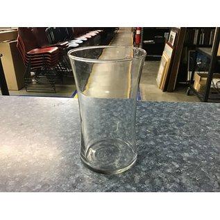 """6 1/2"""" Large glass vase (5/18/21)"""