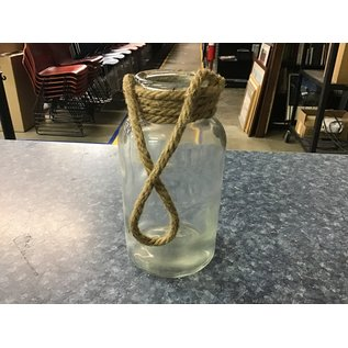 """7 3/4"""" Large glass vase (5/18/21)"""