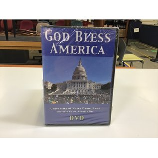 UND Band God Bless America DVD - New (5/18/21)