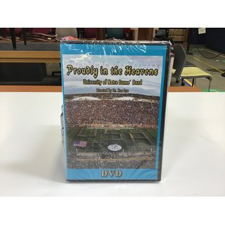UND Band Proudly in the Heaven DVD - New (5/18/21)