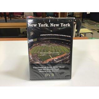 UND Band New York New York DVD - New (5/18/21)