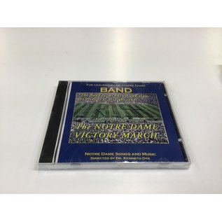 UND Band The Notre Dame Victory March CD - New (5/18/21)