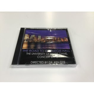 UND Band The Road To Carnegie Hall CD - New (5/18/21)