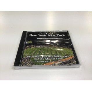 UND Band New York New York CD - New (5/18/21)