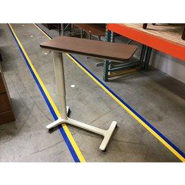 "15x33 1/2"" Adjustable height bedside table on castors (5/18/21)"
