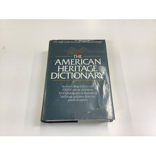 The American Heritage Dictionary (5/19/21)