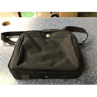 "11 1/2x13"" Dell Black laptop case w/ strap (5/19/21)"