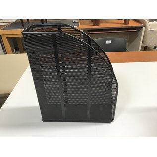 Black wired mesh magazine holder (5/19/21)