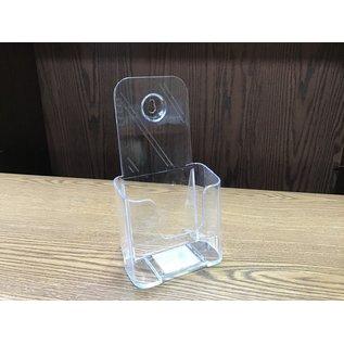 Clear plastic brochure holder (5/19/21)
