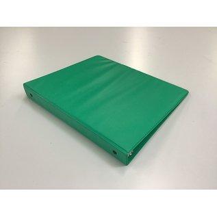 """1 1/2"""" Green 3 ring binder (5/20/21)"""