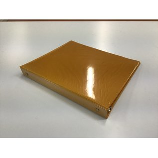 "1 1/2"" Yellow 3 ring binder w/sleeve (5/20/21)"