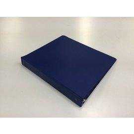 """1 1/2"""" Blue 3 ring binder (5/20/21)"""