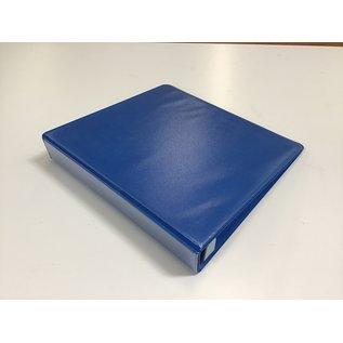 "2"" Medium blue 3 ring binder (5/29/21)"