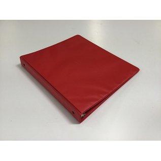 """1"""" Red 3 ring binder (5/20/21)"""