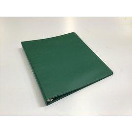 """1 1/2"""" Dk green 3 ring binder (5/20/21)"""