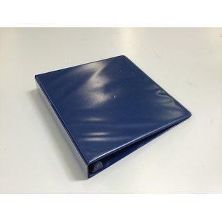 "1 1/2"" Dk blue D ring 3 ring binder (5/20/21)"