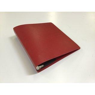 """2 1/2"""" Dk red 3 ring binder (5/20/21)"""