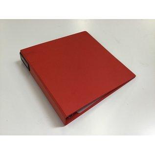 """1 1/2"""" Red D ring 3 ring binder (5/20/21)"""