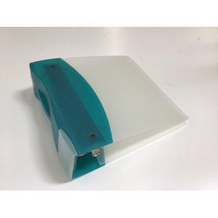 """3"""" Turquoise D ring 3 ring binder (5/20/21)"""